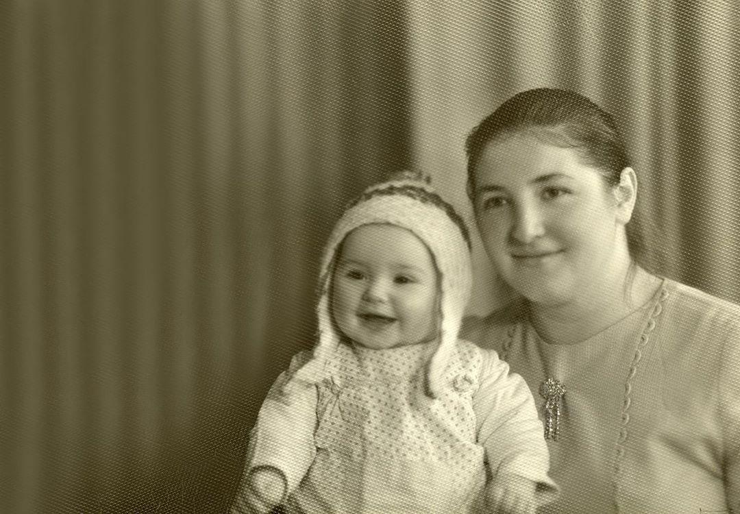 Оксана Марченко с мамой