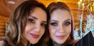 Оксана Марченко с невесткой