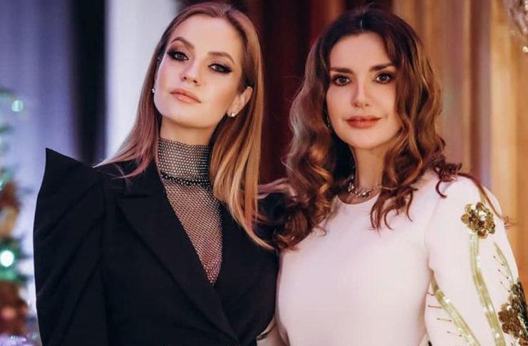 Оксана Марченко с невесткой Екатериной