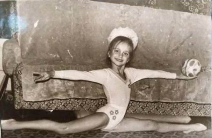Лілія Ребрик в дитинстві