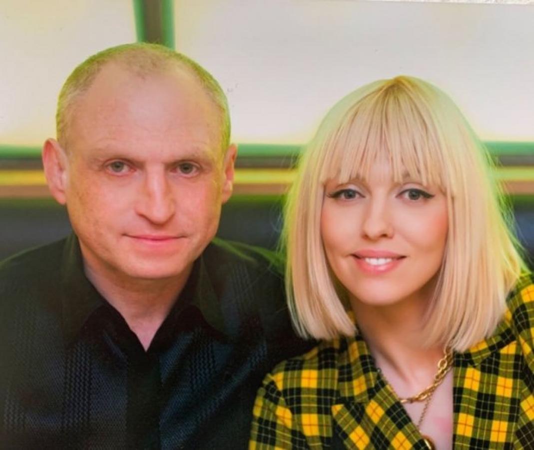 Оля Полякова та Вадим Поляков