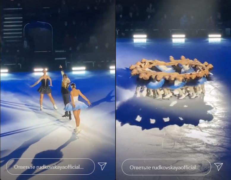 Льодовый балет Лебедине озеро