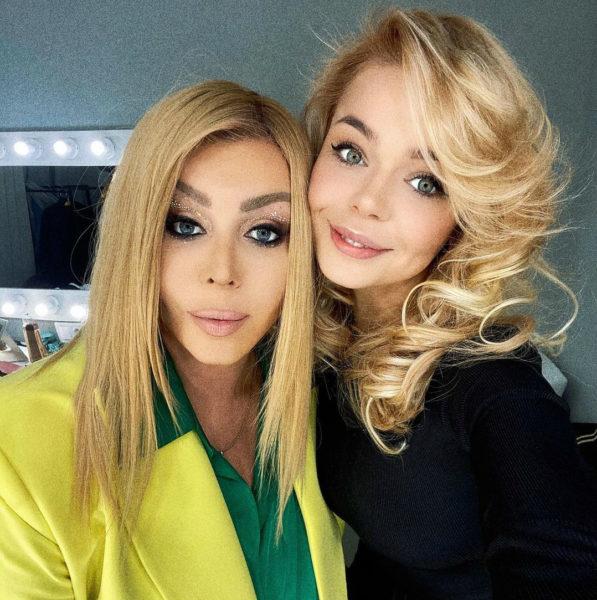 Ирина Билык и Алина Гросу