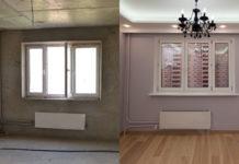 Ремонт в квартире: фото до и после