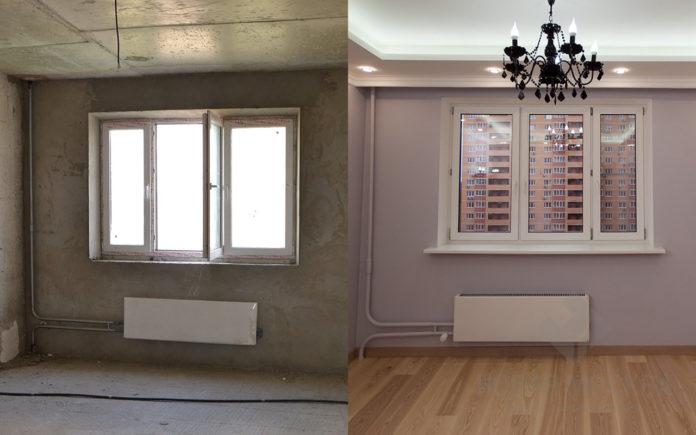 Ремонт в квартирі: фото до і після