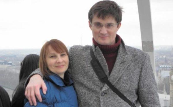 Игорь Кондратюк и жена