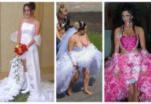 Нелепое свадебное платье - это тренд сезона?