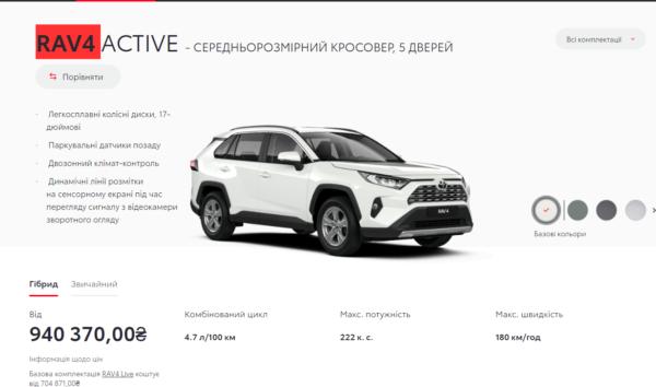 Автомобиль Павлика стоит почти 1 миллион гривен