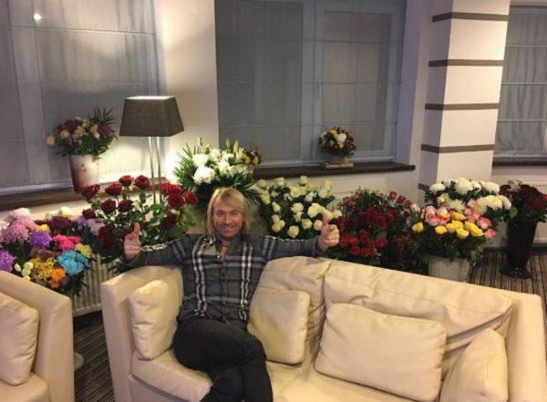 Вітальня Олега Винника