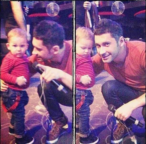 Дан Балан з сином