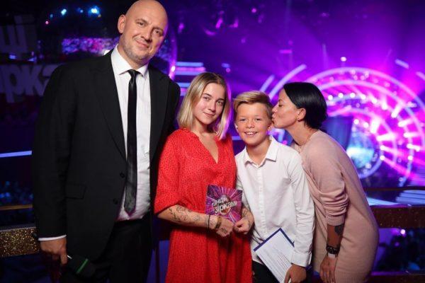 Потап и Ирина Горовая с детьми