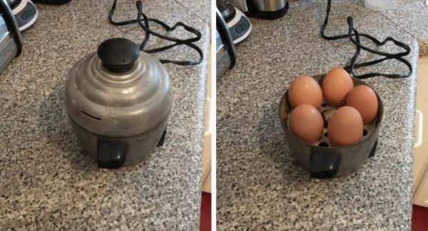 Технические штуки, которые давно устарели - яйцеварка