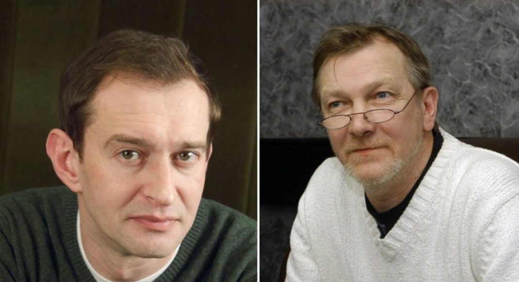Константин Хабенский и Виктор Бычков
