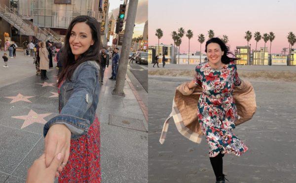 Соломия Витвицкая в Лос-Анджелесе