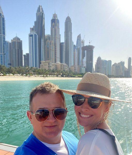 Горбунов и Осадчая в Дубае