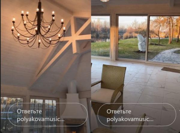 Домик для отдыха Оли Поляковой