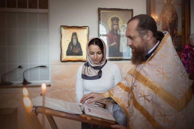 Крещение сына Илоны Гвоздьовой