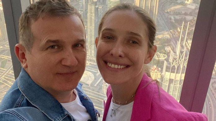 Юрій Горбунов змусив зоряну дружину ревнувати