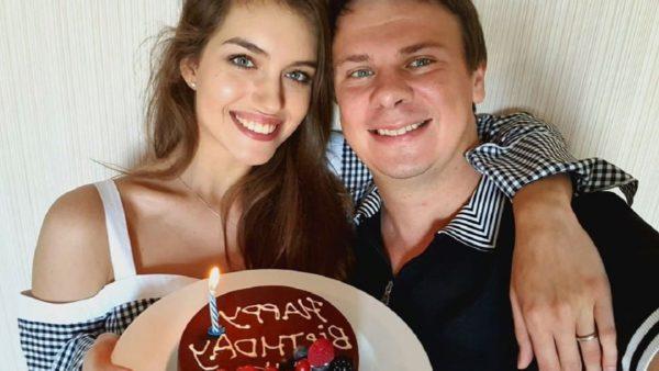Олександра Кучеренко та Дмитро Комаров