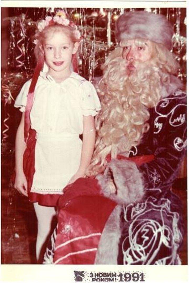 Катя Осадча і Дід Мороз