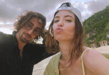 Надя Дорофєєва та Володимир Дантес на Балі