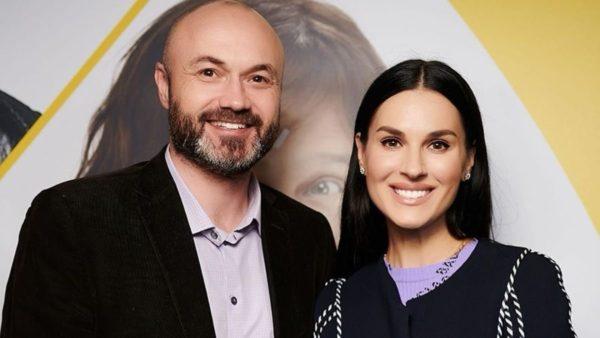 Маша Єфросиніна з чоловіком Тимуром Хромаєвим