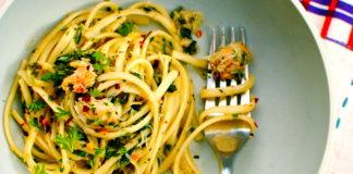 Крабове спагеті