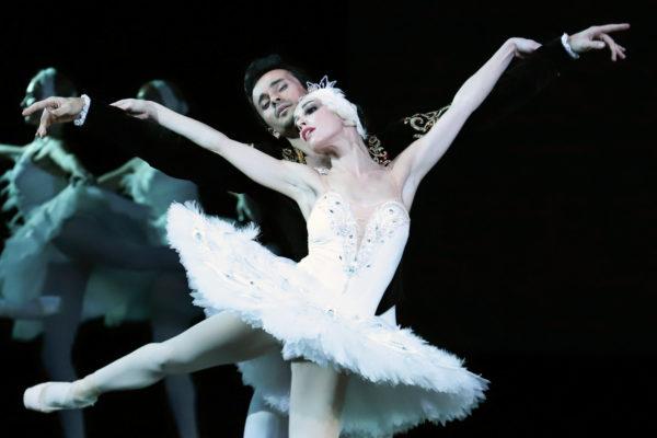 Екатерина Кухар в роли Белого лебедя