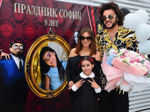 Киркоров с Ани Лорак и ее дочкой Софией