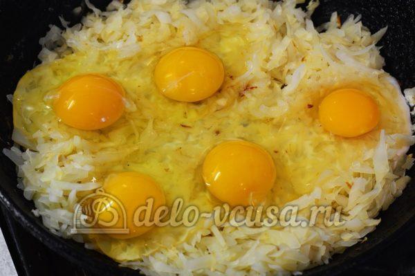 Білокачанна капуста з яйцем