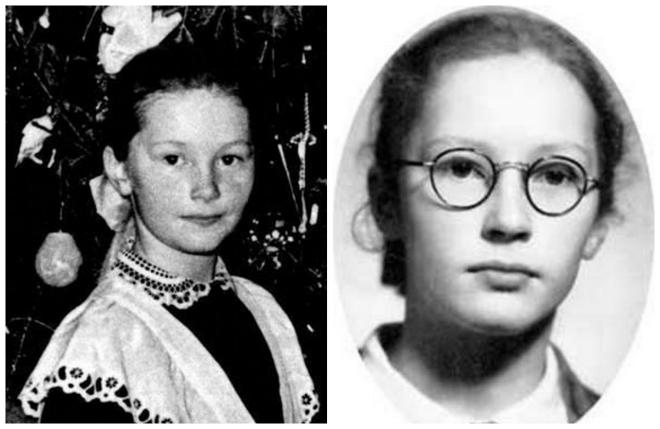 Алла Пугачева в школьные годы