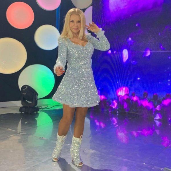 Людмила Балан в образе современной Снегурочки