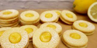 Ароматное печенье с лимонным кремом