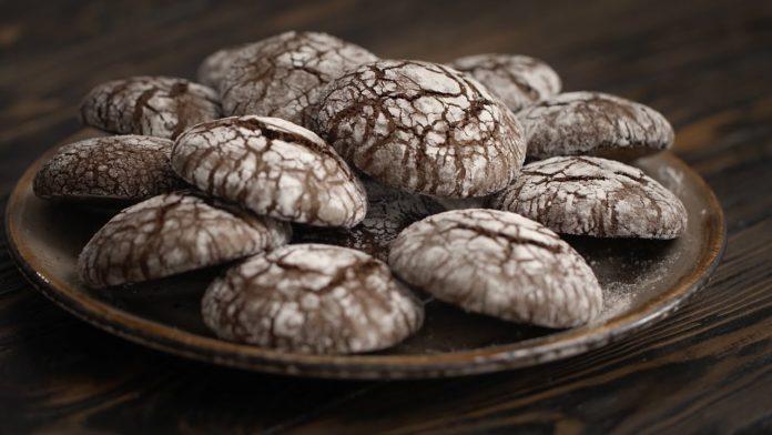 Мраморное печенье от Лизы Глинской