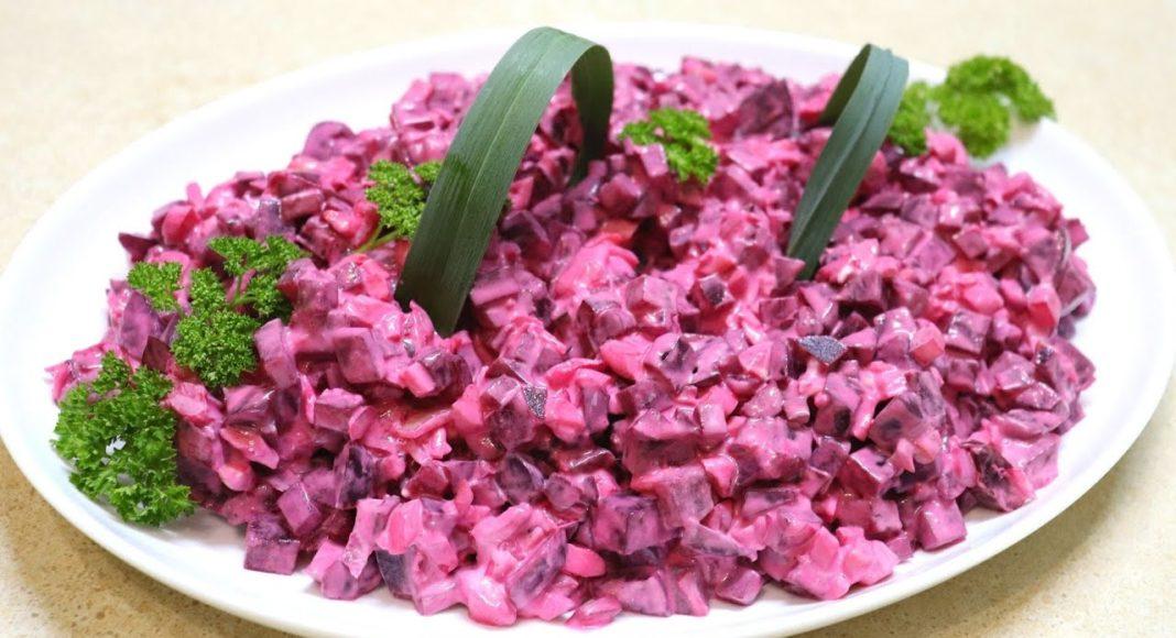 Новый салат из свеклы за 5 минут