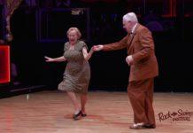 Запальний танець літньої пари