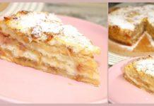 Как приготовить насыпной яблочный пирог?