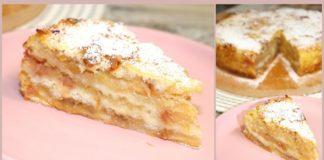 Як приготувати насипний яблучний пиріг?