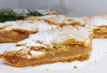 Рецепт яблочного пирога, где мало теста и много начинки