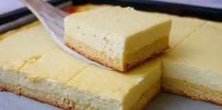 Сирний пиріг для великої родини
