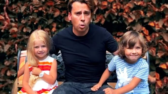 Максим Галкін і діти