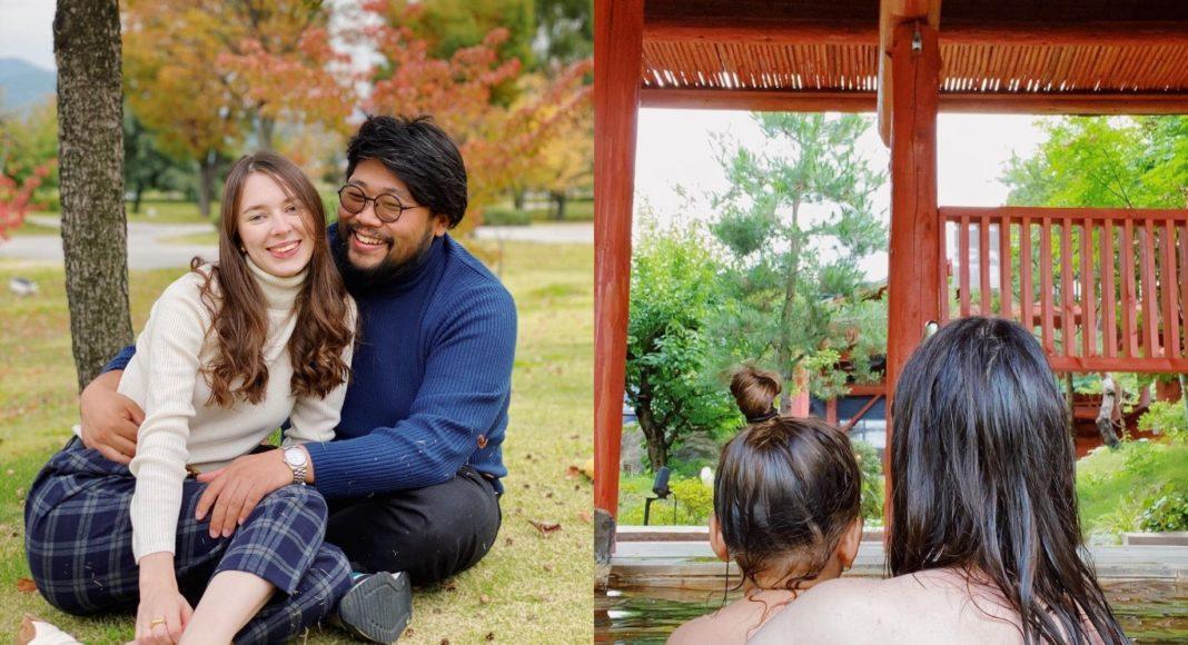 Россиянка вышла замуж за японца