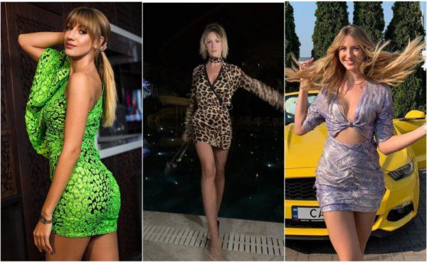 Никитюк выбирает короткие обтягивающие платья