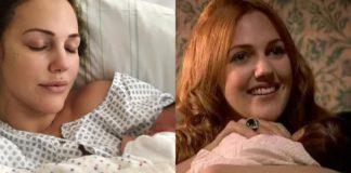 Мерьем Узерли (Хюррем Султан) показала новорожденного ребенка - невероятной красоты девочка, вся в маму