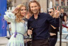 Олег Винник з дружиною Таюне
