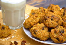 Рецепт полезного овсяного печенья