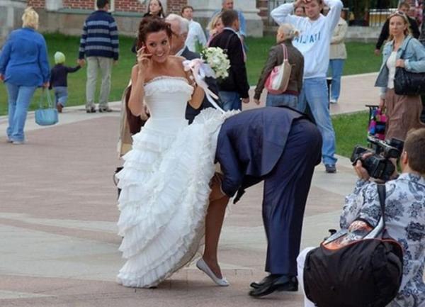 Позорные фото со свадьбы