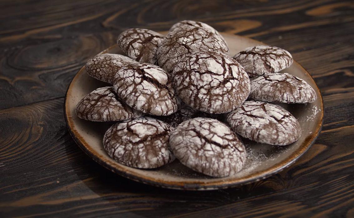 Рецепт мраморного печенья