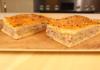 Пирог с мясом и картофелем с тонким нежным тестом
