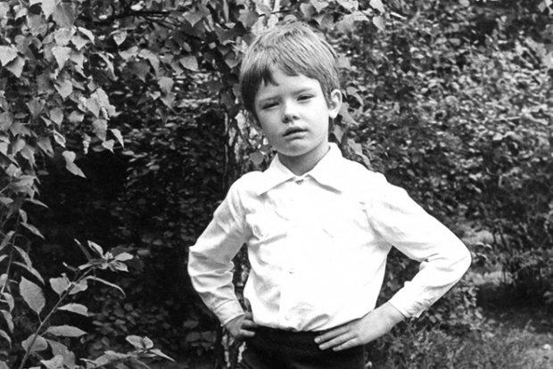 Маленький андрей Данилко был серьезным мальчиком